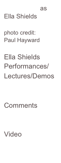 Harriet Lynn as