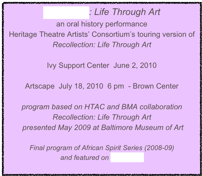 Reflections: Life Through Art